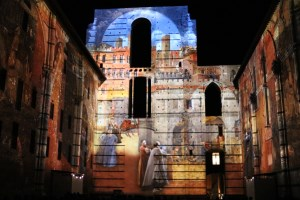 Historic Tuscany shines in dazzling projection mapping